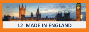12. MADE IN ENGLAND